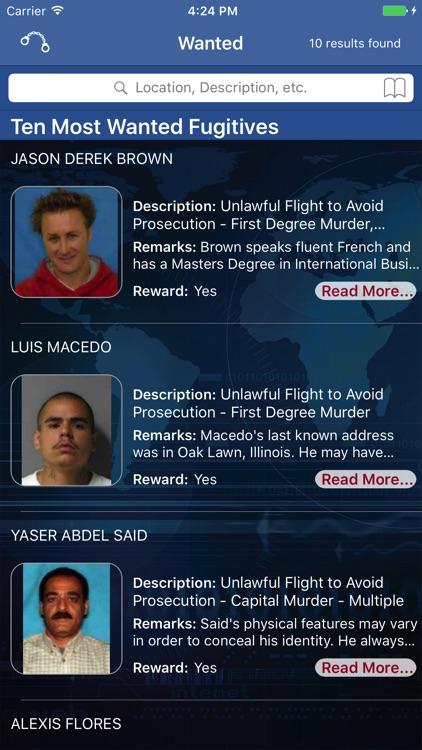 FBI Wanted screenshot-0