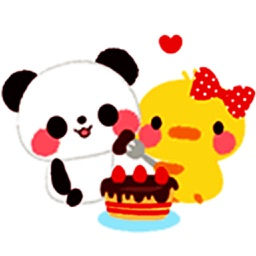 Panda & Duck - Animated Stickers And Emoticons