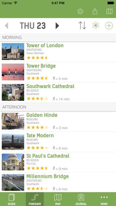 London Guide - mTrip Screenshot 2