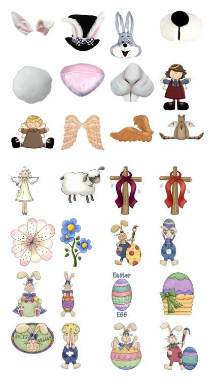 Easter Stickers #1 for iMessage