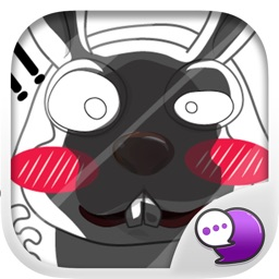 Joke bunny Stickers for iMessage