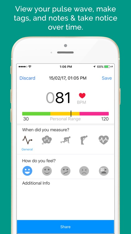 Heart Rate Tracker + Measurement