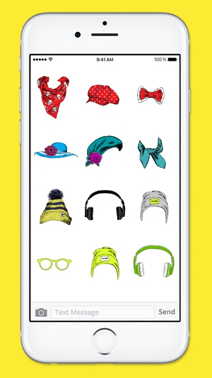 Hats Glasses and More Photobooth Sticker Pack screenshot-3