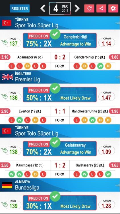 Tips Betting Prediction Results - Football LE screenshot-3