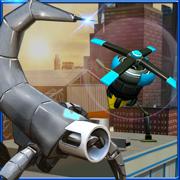 机器人队隐身操作 — — 间谍无人机模拟器