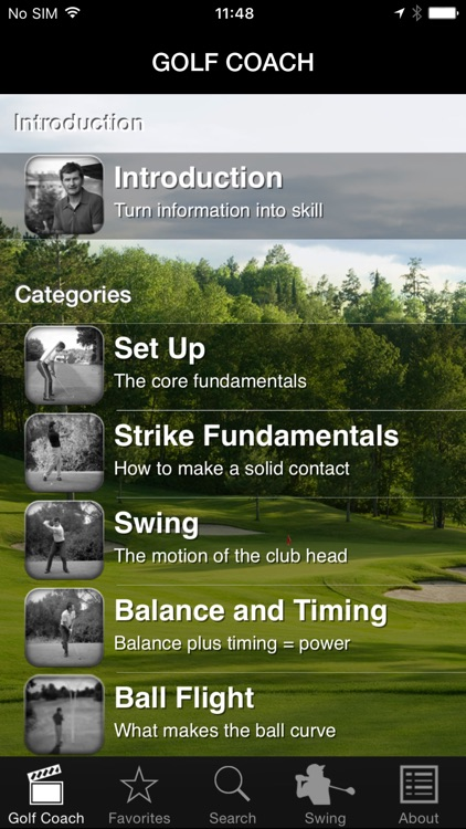 Golf Coach by Dr Noel Rousseau screenshot-4