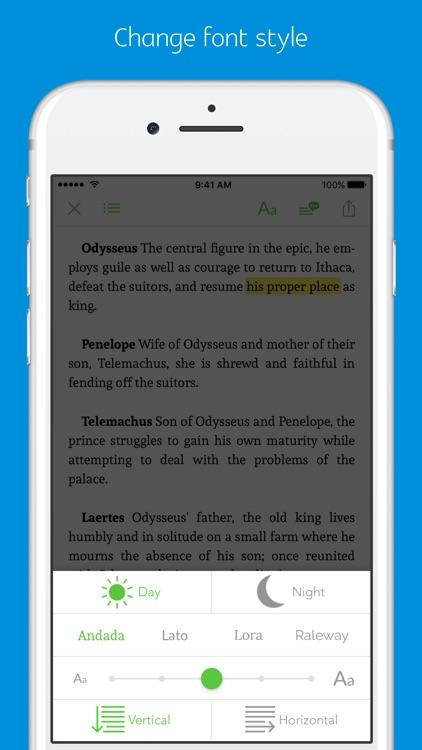 The Odyssey - sync transcript, notes screenshot-3