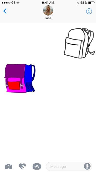 バックパック ステッカー パックのスクリーンショット2