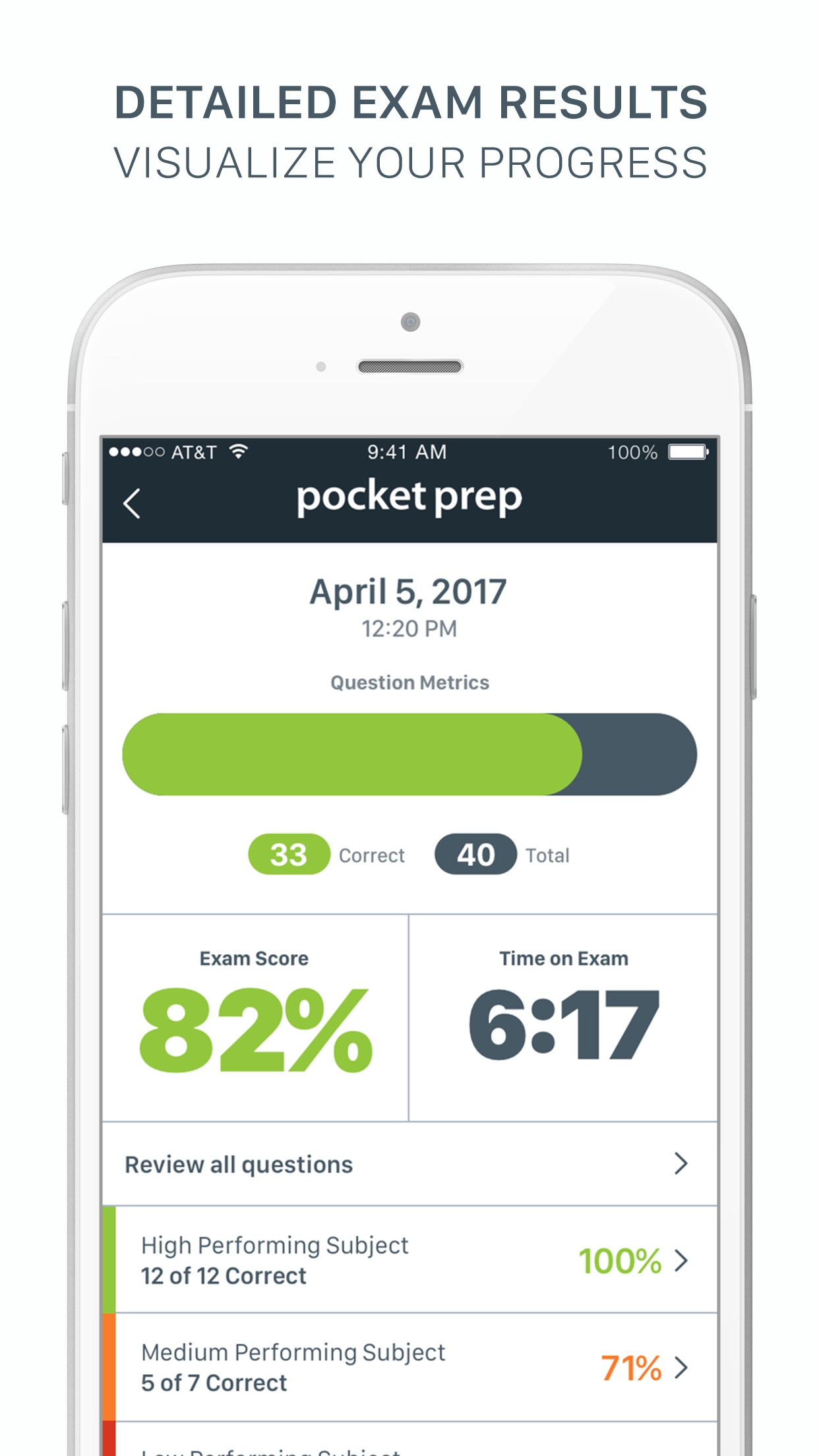 GED Pocket Prep Screenshot