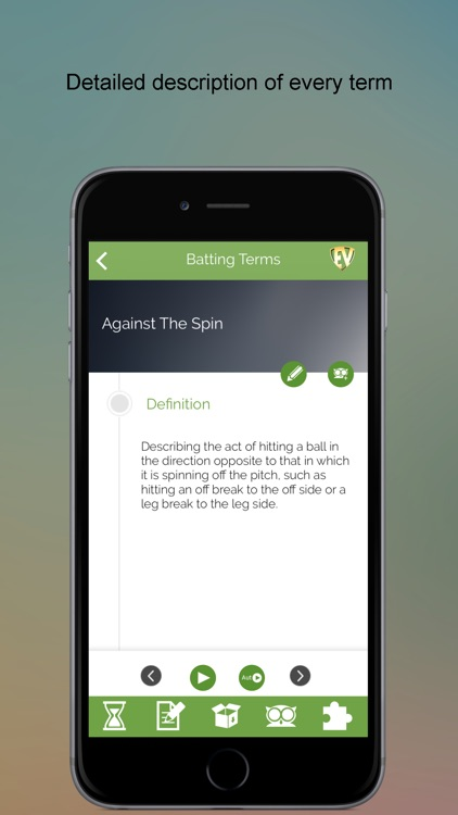 Cricket Dictionary PRO SMART Guide screenshot-2