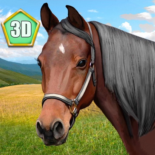 Wild Horse 3D Simulator Full icon