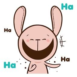 Teddy Rabbit Animated Stickers