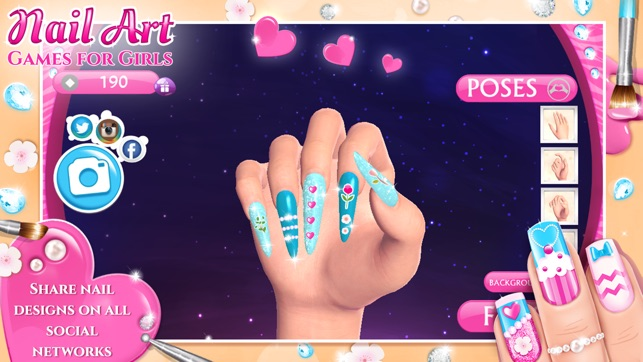 Screenshots - Nail Art Games For Girls: Top Star Manicure Salon On The App Store