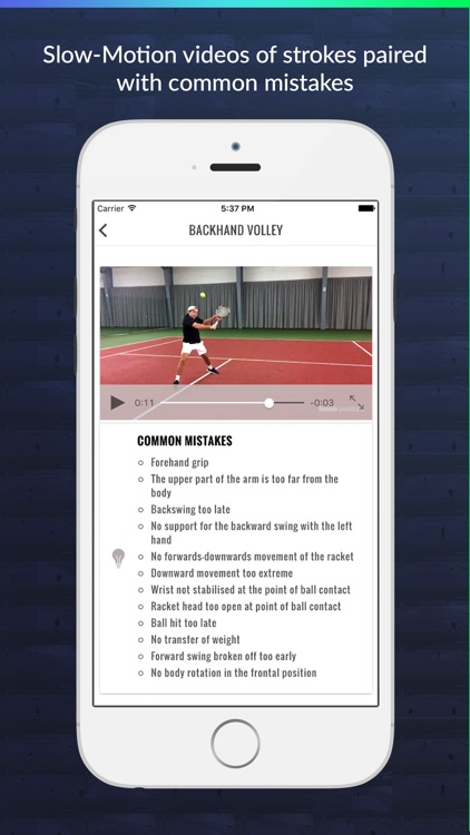 Tennis Assistant screenshot-4