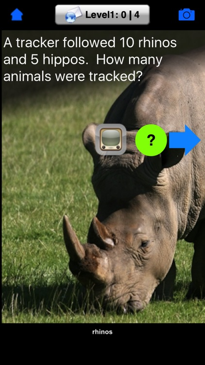 iLiveMath Animals Of Africa screenshot-3