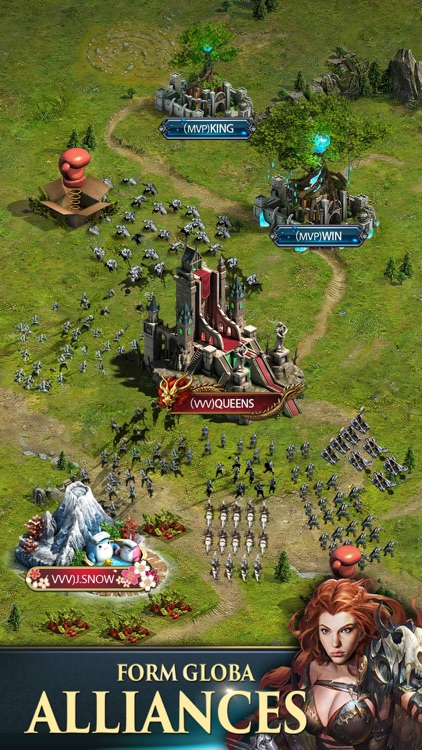 Clash of Queens: Dragons Rise screenshot-3