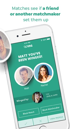 app for matchmaking dating en homebody jente