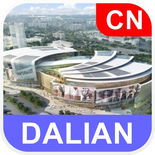 Dalian, China Offline Map - PLACE STARS