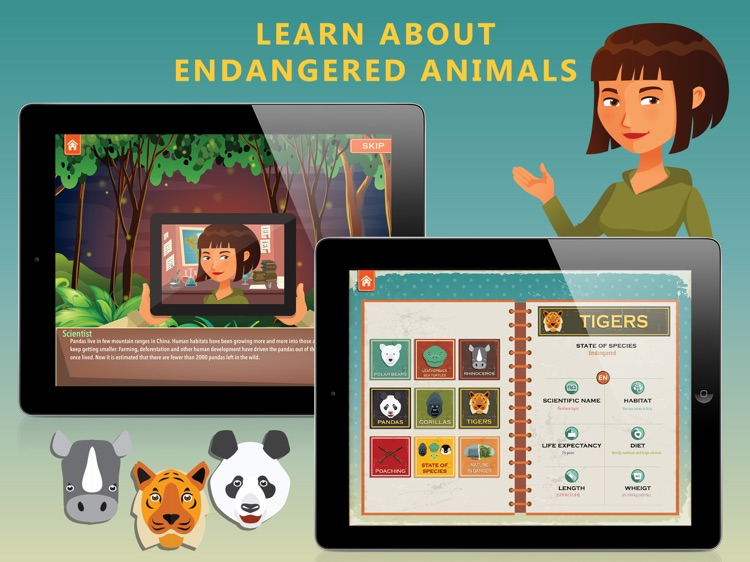 Endangered Animals screenshot-4