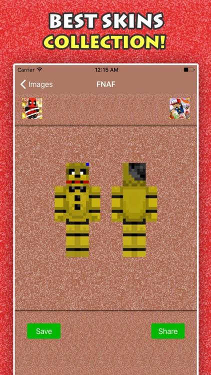 BEST FNAF SKINS FREE For Minecraft Pocket Edition screenshot-3