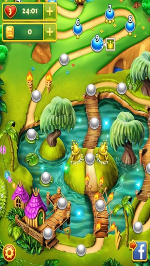 Forest Charm - 3 match jelly candy mania game