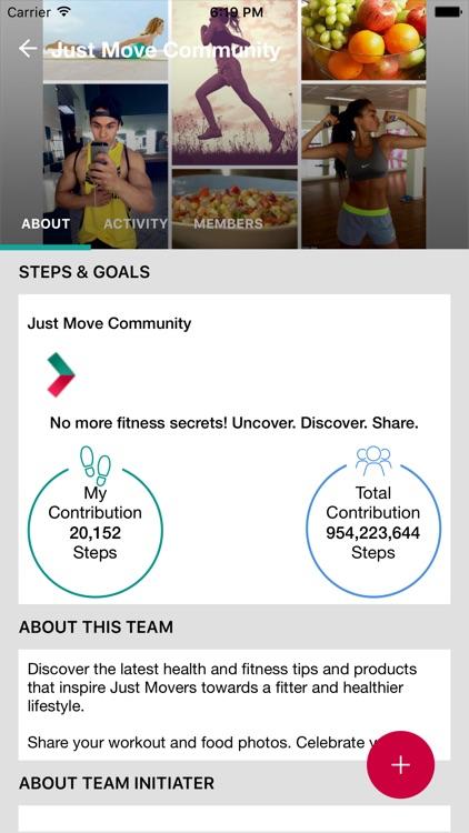 Just Move Fitness App screenshot-4
