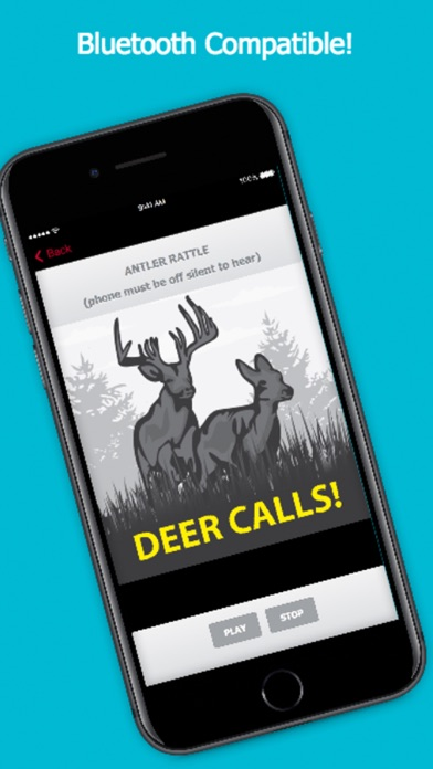 Screenshot for Deer Calls Pro for Whitetail Buck Hunting in Canada App Store