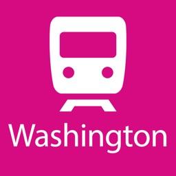 Washington Rail Map