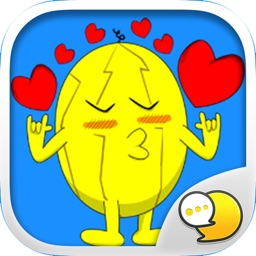 Melonman V.3 Emoji Stickers for iMessage