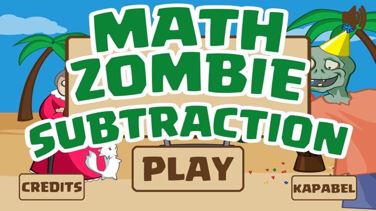 Math Zombie - Subtraction