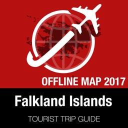 Falkland Islands Tourist Guide + Offline Map