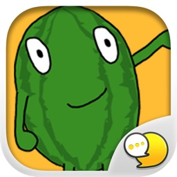Melonman V.1 Emoji Stickers for iMessage