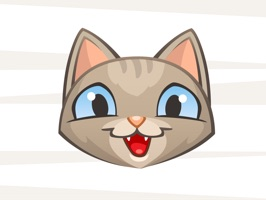 Zozo cat stickers are brilliant to send to your favourite loved ones and friends