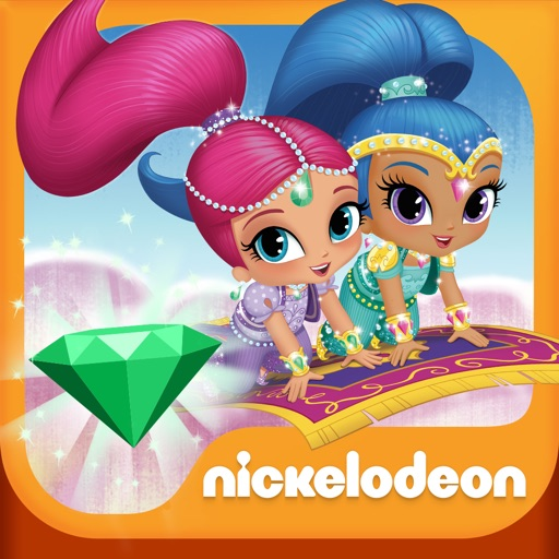 Shimmer and Shine: Enchanted Carpet Ride Game HD icon
