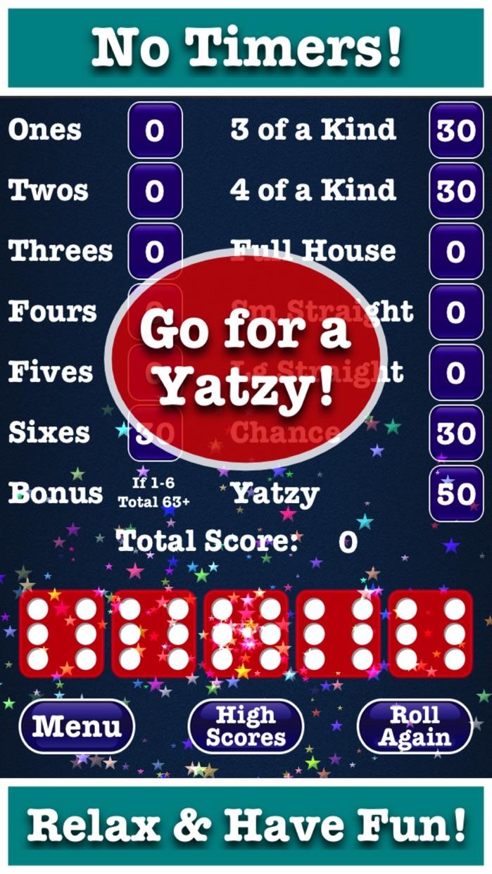Totally Yatzy Classic Dice Fun Screenshot