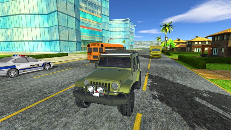 In Car VR Parking 2017 - Miami Edition screenshot-4