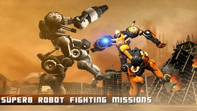 Futuristic Robot fight: Modern Steel World War