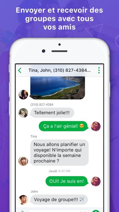 Screenshot #3 pour Nextplus: Téléphone Privé