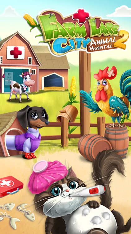 Farm Lake City Hospital 2 - No Ads screenshot-0