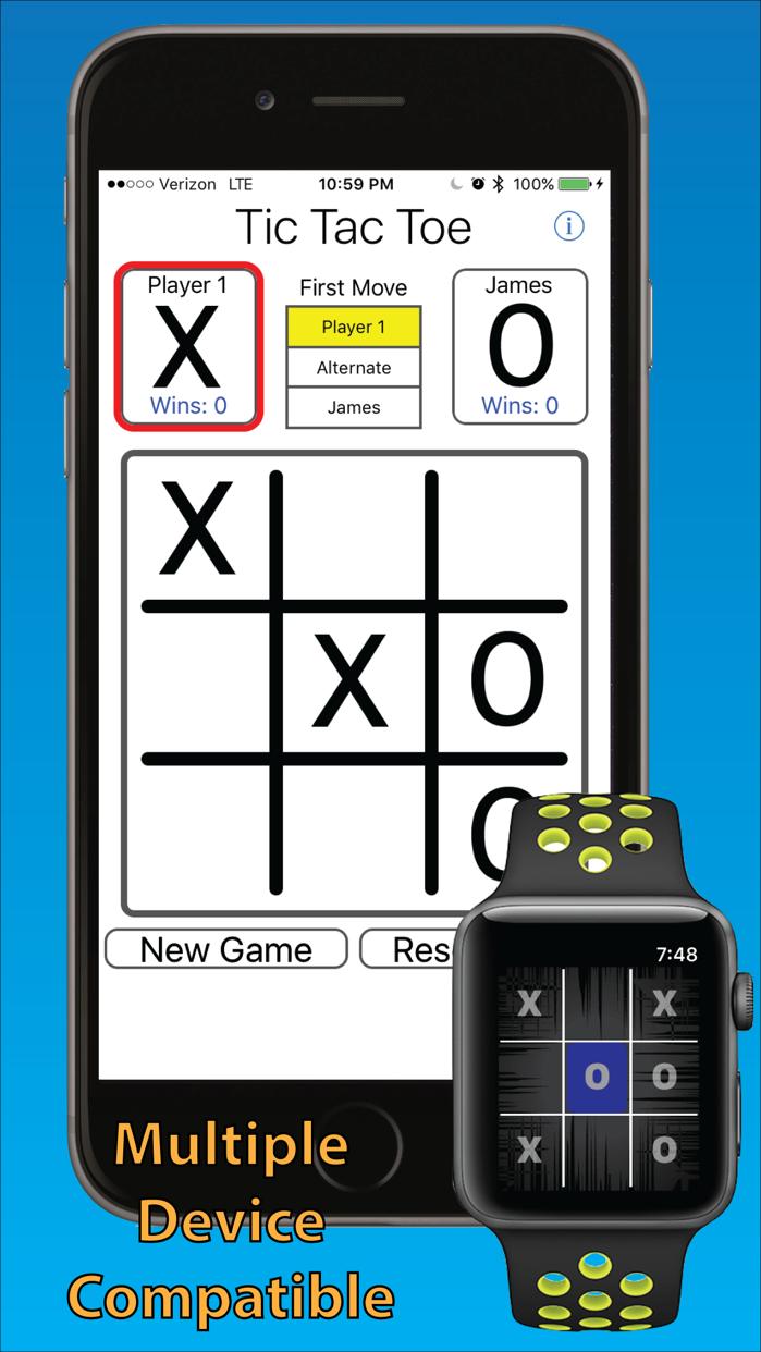 Tic Tac Toe 3-in-a-row Screenshot