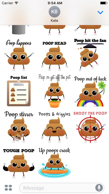 Poop Quotes Stickers screenshot-3