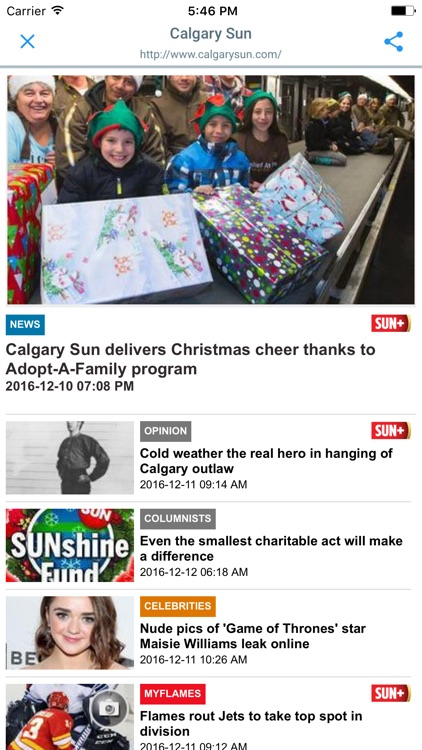 CANADIAN NEWSPAPERS and MAGAZINES screenshot-1