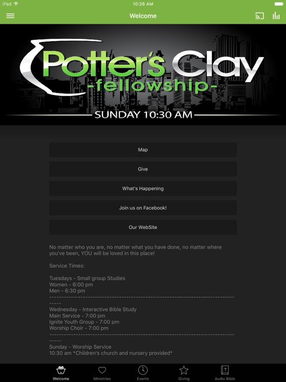 Potter's Clay Fellowship screenshot 4