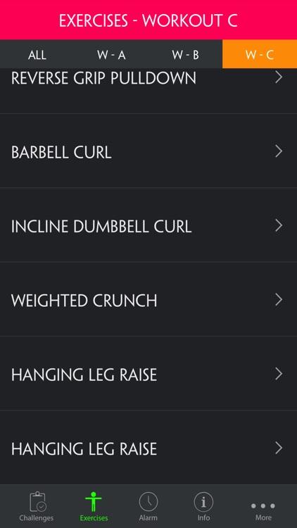 A Full Body Strength & Hypertrophy Workout screenshot-3