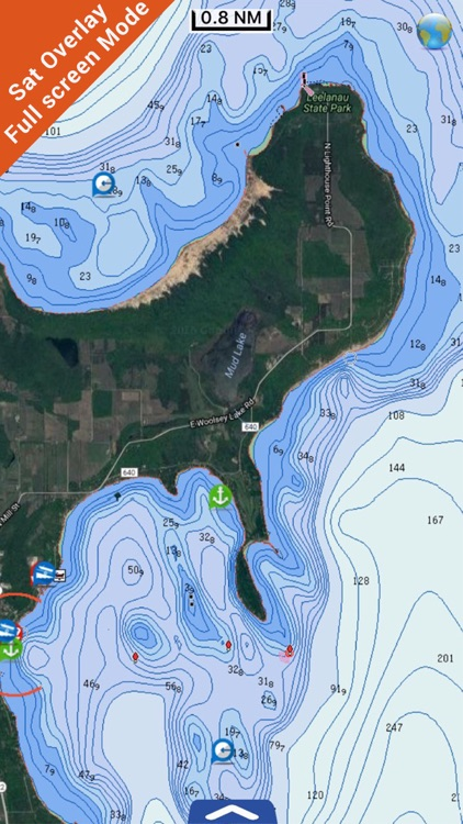 Great Lakes HD Nautical Charts screenshot-2