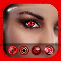Sharingan Eyes Photo Editor: Red Eye Color Changer