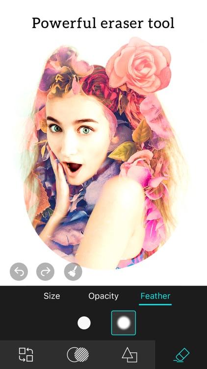 Photo Blender - Double Exposure & SuperImpose Pics screenshot-3