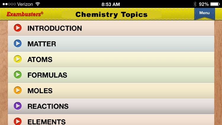 ACT Science Prep Flashcards Exambusters screenshot-2