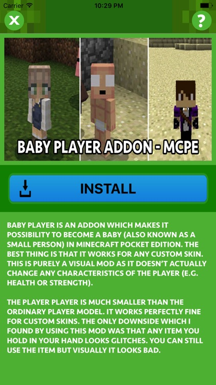 BABY ADDONS for Minecraft Pocket Edition PE screenshot-1