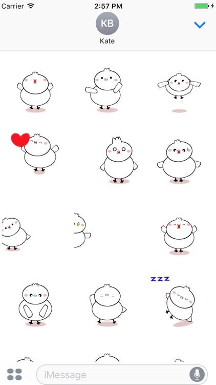 Bird Moving Sticker screenshot-3